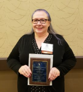 KHDS foster parent Ruth Donalds named 2018 Practitioner of the Year at Teaching Family Association national conference.